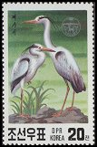 Cl: Grey Heron (Ardea cinerea)(Repeat for this country)  SG 3029 (1991)  [3/7]
