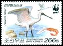 Cl: Black-faced Spoonbill (Platalea minor)(Repeat for this country)  SG 4881d (2009)  [6/25]