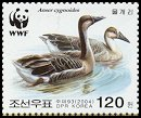 Cl: Swan Goose (Anser cygnoides)(Repeat for this country)  SG 4453 (2004)  [3/30]