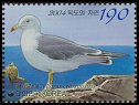 Cl: Black-tailed Gull (Larus crassirostris) SG 2739 (2004)  [2/17]