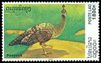 Cl: Green Peafowl (Pavo muticus)(Repeat for this country)  SG 1699 (2000)