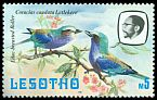 Cl: Lilac-breasted Roller (Coracias caudata) <<Letlekere>>  SG 450 (1981) 600