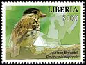 Cl: African Broadbill (Smithornis capensis)(I do not have this stamp)  new (2016)