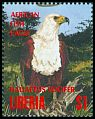 Cl: African Fish-Eagle (Haliaeetus vocifer)(Repeat for this country)  new (1994)