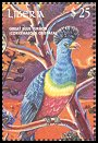 Cl: Great Blue Turaco (Corythaeola cristata) new (2000)  [1/14]