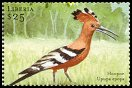 Cl: Eurasian Hoopoe (Upupa epops)(Repeat for this country)  new (2001)  [2/4]