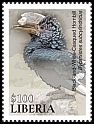 Cl: Black-and-white-casqued Hornbill (Ceratogymna subcylindricus)(I do not have this stamp)  new (2016)