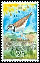 Cl: Little Ringed Plover (Charadrius dubius) SG 955 (1989) 85
