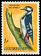 Cl: Great Spotted Woodpecker (Dendrocopos major) SG 691 (1961) 65