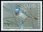 Cl: Bluethroat (Luscinia svecica) <<Gorgebleue &agrave; miroir>>  SG 2156 (2018)