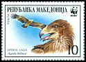 Cl: Imperial Eagle (Aquila heliaca)(Repeat for this country)  SG 321 (2001) 50