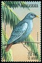Cl: Madagascar Blue-Pigeon (Alectroenas madagascariensis)(Endemic or near-endemic)  new (1999)