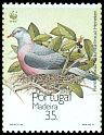 Cl: Trocaz Pigeon (Columba trocaz) <<Pombo trocaz>> (Endemic or near-endemic)  SG 276 (1991) 160