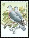 Cl: Trocaz Pigeon (Columba trocaz) <<Pombo trocaz>> (Endemic or near-endemic)  SG 275 (1991) 160