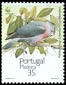 Cl: Trocaz Pigeon (Columba trocaz) <<Pombo trocaz>> (Endemic or near-endemic)  SG 277 (1991) 160