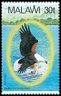 Cl: African Fish-Eagle (Haliaeetus vocifer)(Repeat for this country)  SG 676 (1983) 160