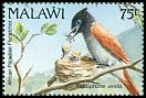 Cl: African Paradise-Flycatcher (Terpsiphone viridis)(Repeat for this country)  SG 880 (1992) 225
