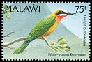 Cl: White-fronted Bee-eater (Merops bullockoides) SG 881 (1992) 90