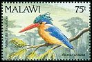 Cl: Malachite Kingfisher (Alcedo cristata) SG 886 (1992) 225