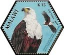 Cl: African Fish-Eagle (Haliaeetus vocifer)(Repeat for this country)  SG 1031a (2004) 75 [3/54]