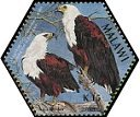 Cl: African Fish-Eagle (Haliaeetus vocifer)(Repeat for this country)  SG 1031b (2004) 75 [3/54]