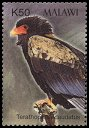 Cl: Bateleur (Terathopius ecaudatus)(Repeat for this country)  SG 1018c (2003) 150 [2/6]