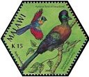 Cl: Purple-crested Turaco (Tauraco porphyreolophus) SG 1031e (2004)  [3/54]