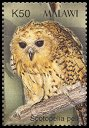 Cl: Pel's Fishing-Owl (Scotopelia peli) SG 1018f (2003) 150 [2/6]