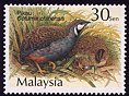Cl: Blue-breasted Quail (Coturnix chinensis) SG 995 (2001) 60