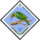 Cl: Golden-fronted Leafbird (Chloropsis aurifrons)(Out of range)  SG 463 (1973) 400