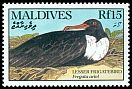 Cl: Lesser Frigatebird (Fregata ariel)(Repeat for this country)  SG 1424 (1990) 275