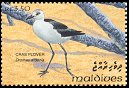 Cl: Crab Plover (Dromas ardeola)(Repeat for this country)  SG 1845 (1993)