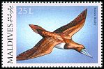 Cl: Brown Booby (Sula leucogaster)(Repeat for this country)  SG 3280 (2000)