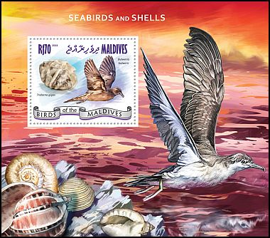 Cl: Bulwer's Petrel (Bulweria bulwerii)(I do not have this stamp)  new (2014)