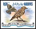 Cl: Tree Pipit (Anthus trivialis)(Repeat for this country) (I do not have this stamp)  new (2014)