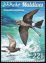 Cl: Wilson's Storm-Petrel (Oceanites oceanicus)(Repeat for this country) (I do not have this stamp)  new (2015)