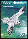 Cl: Red-billed Tropicbird (Phaethon aethereus)(I do not have this stamp)  new (2015)