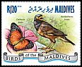 Cl: Common Myna (Acridotheres tristis)(I do not have this stamp)  new (2014)