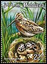 Cl: Common Snipe (Gallinago gallinago)(Repeat for this country) (I do not have this stamp)  new (2015)