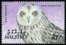 Cl: Short-eared Owl (Asio flammeus)(Repeat for this country)  SG 3688 (2002)