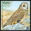 Cl: Short-eared Owl (Asio flammeus) <<Kokka tax-Xaghri>>  SG 1227 (2001) 85