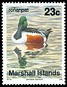 Cl: Northern Shoveler (Anas clypeata)(Repeat for this country)  SG 292 (1990) 70