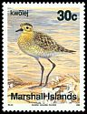 Cl: Pacific Golden-Plover (Pluvialis fulva)(Repeat for this country)  SG 297 (1990) 90