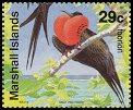 Cl: Great Frigatebird (Fregata minor)(Repeat for this country)  SG 399 (1991) 200