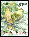 Cl: Crimson-crowned Fruit-Dove (Ptilinopus porphyraceus) <<Mule>>  SG 1123 (1999) 2800