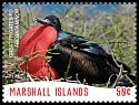 Cl: Great Frigatebird (Fregata minor)(Repeat for this country) (I do not have this stamp)  SG 3825b (2018)