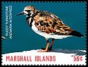 Cl: Ruddy Turnstone (Arenaria interpres)(Repeat for this country) (I do not have this stamp)  SG 3825a (2018)