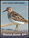Cl: Pectoral Sandpiper (Calidris melanotos)(I do not have this stamp)  new (2019)