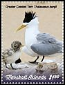 Cl: Great Crested Tern (Sterna bergii)(Repeat for this country) (I do not have this stamp)  new (2019)
