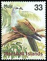 Cl: Micronesian Imperial-Pigeon (Ducula oceanica) SG 1116 (1999) 180